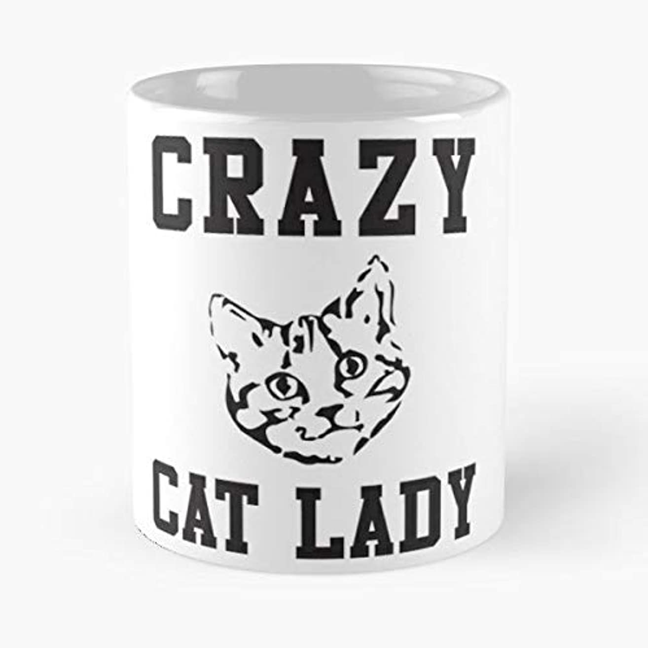 Crazy Cat Lady Tank Tanks Sweater - Coffee Mug-11 Oz,white Unique Birthday Gift-the Best Gift For Holidays.