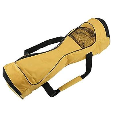 KEKDORY 6,5 Zoll tragbare selbstausgleichende Elektroroller Tragetasche 2 R?der Auto Balancing Hoverboard Handtasche wasserdichte Aufbewahrungstasche-Yellow6,5 Zoll