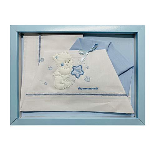 NADA HOME kinderwagen-opzetstuk voor pasgeborenen, 3-delig, van katoen 2684