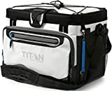 Arctic Zone Titan Deep Freeze 30 Can Zipperless Cooler, White