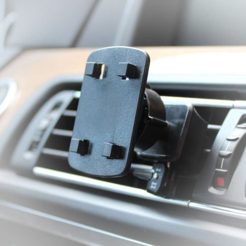 AutoScheich® Navi Lüftung Halterung Halter für Becker Falk Medion GPS 4 Krallen Loch Monitor KFZ LKW