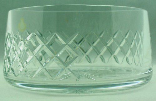 Ullmannglass Schüssel aus Bleikristall mit Schliffdekor