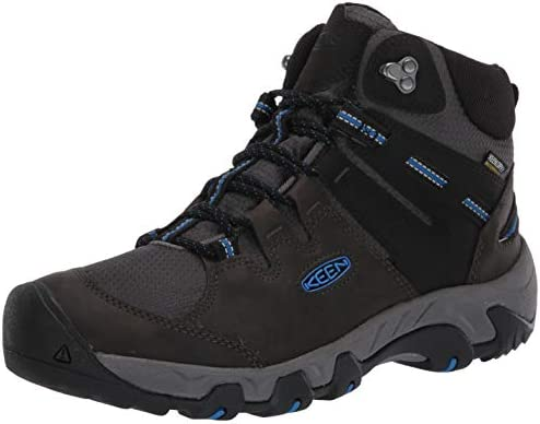 KEEN Men s Steens MID WP Hiking Boot Black 10 product image