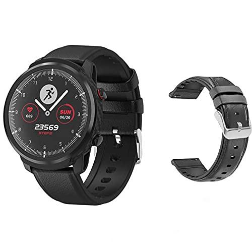 ZGNB L3 Smart Watch, Modo Deportivo Multifunción, Pantalla De Tiempo, Presión Arterial IP67 Moda Deportiva Modo Deportivo Caminando En Bicicleta (para iOS Android,G