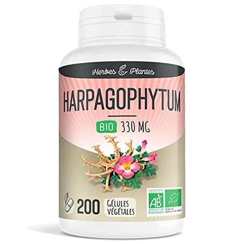 Herbes Et Plantes Harpagophytum Bio 200 Gélules Végétales 330 mg
