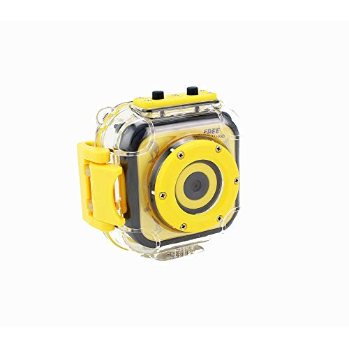 Kids Camera Children First Camera 1080P HD Digital Waterproof Sports Action Underwater Video Camcorder for Girls Boys Birthday (Yellow), Small Toddler Best Birthday Gift (Color : Pink)
