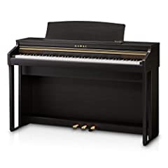 88-key Digital Home Piano with Grand Feel Compact wooden-key Action Progressive Harmonic Imaging Sound Engine Built-in Alfred piano Lessons 192-note Polyphony