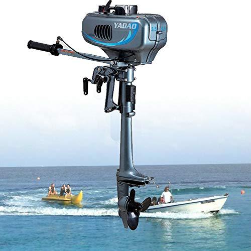 OUKANING motore fuoribordo elettrico da 3,5 CV, per barca, aggiornato con 2 tempi, 2,5 KW, 4000 5000 r/min, CDI raffreddato ad acqua, funzionamento ad alta velocit, maggiore potenza