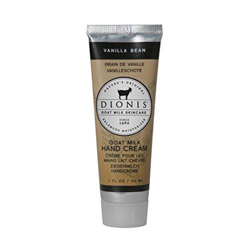 DIONIS Goat Milk Skincare Handcreme Vanille | 30ml Zart duftende Handlotion mit Ziegenmilch & Vitamin E | Ideale Naturkosmetik für jeden Tag