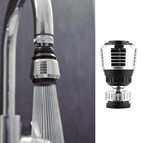 Aireador de grifo universal, Herramientas de la cocina Antisplash ajustables for el ahorro de agua Grifo Aireador difusor, adaptador de filtros 360 Girar giratoria grifo de la boquilla ( Size : 1PCS )