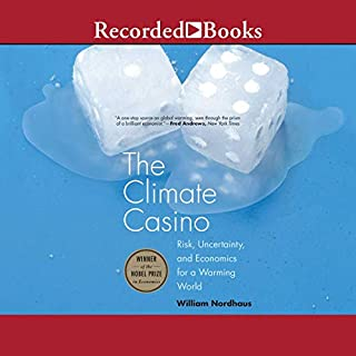 The Climate Casino audiobook cover art