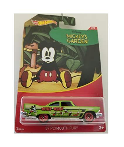 Hot Wheels Mickey Mouse 2018 57 Plymouth Fury 2/8 Series Mickey's Garden