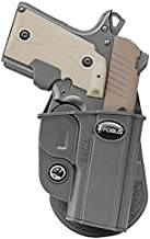 Fobus KMSG Evolution Holster for Kimber Micro, Micro 9, Sig Sauer P238, P938 .22, P938 9mm, Springfield 911 .380 ACP