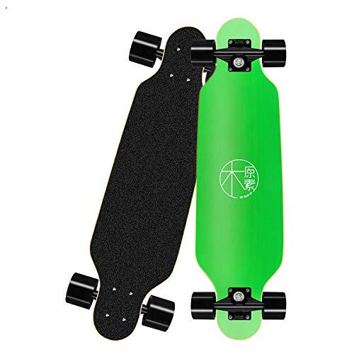 Asdfax Skateboard débutant Monopatín Completo para Principiantes, monopatín de Arce Profesional de 31 Pulgadas con rodamientos ABEC-7, Adecuado para Adultos / niños / Adolescentes / niños y niñas-mi