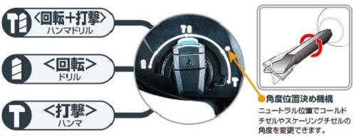 マキタ充電式ハンマドリル18V24mm/ハツリ可SDS+集じんシステム・バッテリ充電器付HR244DRGXV