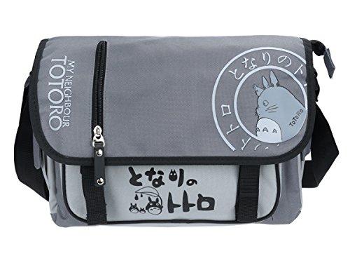CoolChange Totoro Umhänge Tasche, Grau