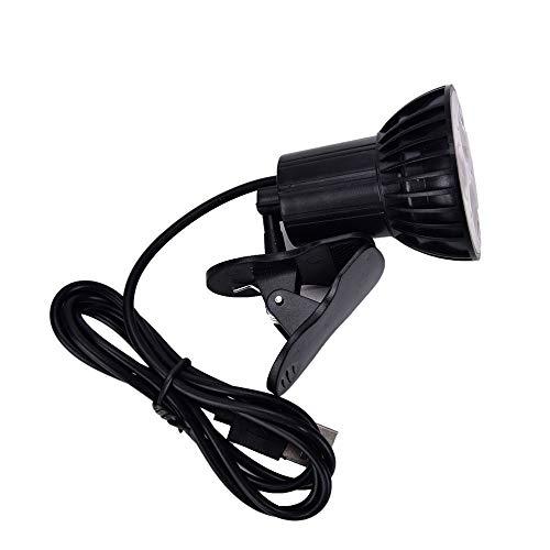 AAZDK Lezen Licht Bureau Lezen Lamp Flexibele 3 LED Clip Op Boek Licht Super Heldere USB Licht voor Laptop PC Notebook Home Verlichting Draagbare