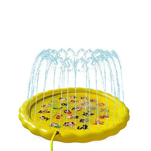 Hakka Alfombrilla de Riego para Niños Juguetes Divertidos para El Agua Alfombrilla para Niños Juguetes de Verano para Jardines Y Jardines para Niños Y Niñas