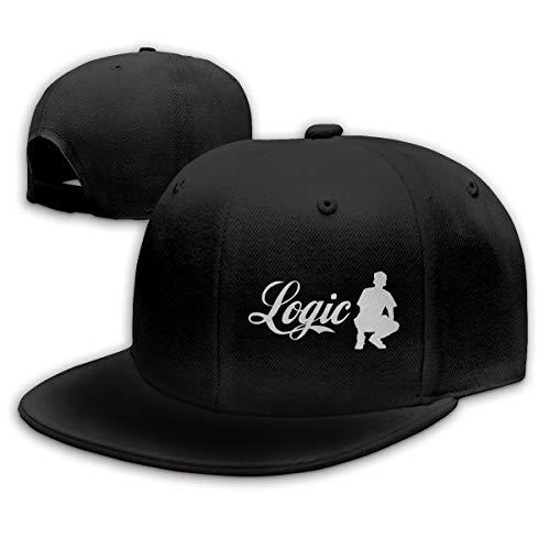 Ooiilpe Men&Women Baseball Hat Logic Everybody Baseball Cap Black