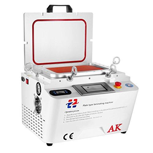 Cueffer 5 en 1 Máquina de Laminación de Vacío Laminador al Vacío OCA Plastificadora para Pantalla Máquina de Laminación de 12 Pulgadas para Reparación de Pantallas de Teléfonos Móviles