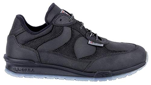 Cofra 78611-000.W37 Chaussures de sécurité Koblet O2 SRC Fo Taille 37, Noir