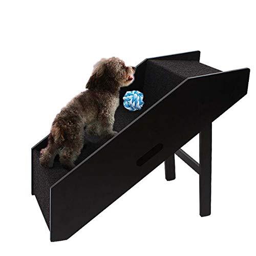 ZYQ Haustreppen faltbar 3-stufigem Rutschfester Bett mit kleinen Treppen Haustier Allgemeine Schritte