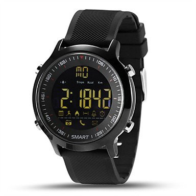 XKC-watches herenhorloge, heren, smartwatch, Chinese digitale afstandsbediening, kalender, chronograaf, waterdicht, hartslagmonitor, snelheidsmeter, stappenteller, fitness