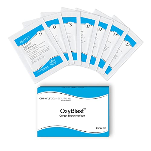 Cheryl's Cosmeceuticals Oxyblast Facial Kit: 1 Pack – Radiant & Brighter Skin – for All Skin Types