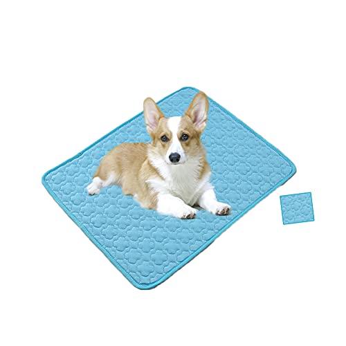 Alfombrilla de refrigeración para perro, alfombrilla de refrigeración para perro, almohadilla de gel, manta para animales, poliéster,