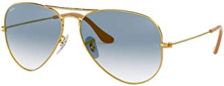 Ray Ban RB3025 AVIATOR LARGE METAL Non-Polarized...