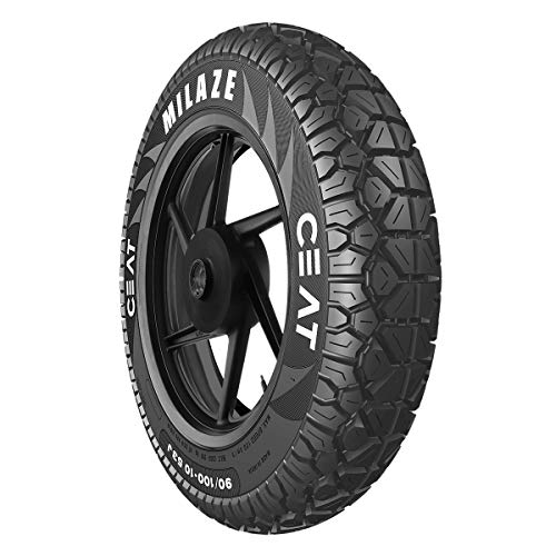 Ceat Milaze 90/100 -10 53J Tubeless Scooter Tyre,Front or Rear...