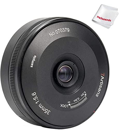 7artisans 35mm F5.6 パンケーキレンズ フルフレーム ニコンZマウントカメラ Z5 Z6 Z7 Z6 II適応