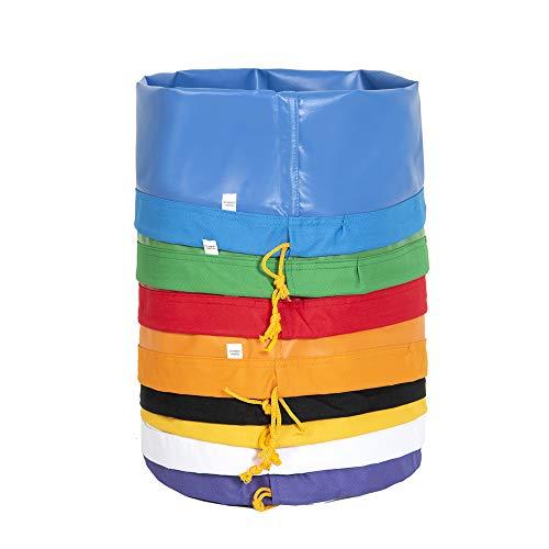 Hyindoor 20L 5 Gallon 8 Beutel Bubble Bag Kräutereis Essence Extraktion Beutel Kit mit Presssieb und Tragetasche