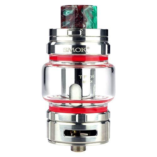 SMOK TFV16 Tank 9 ml, Durchmesser 27 mm, Riccardo DL Verdampfer für e-Zigarette, silber