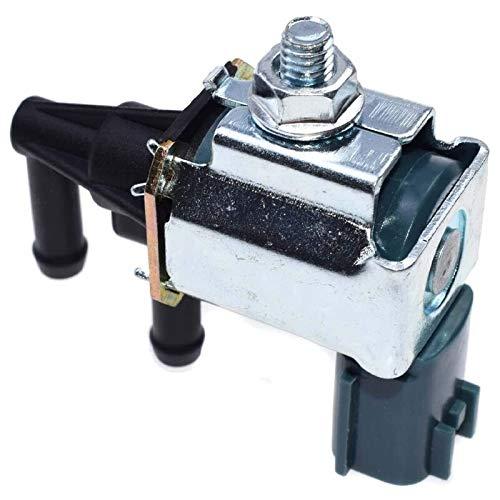 LULUTING Válvula Válvula solenoide del solenoide del Tanque de Carbono del Coche Válvula de solenoide de vacío para Nissan Infiniti 14930-Z50001 1149309E010 FDCC100 (Color : Silver Black)