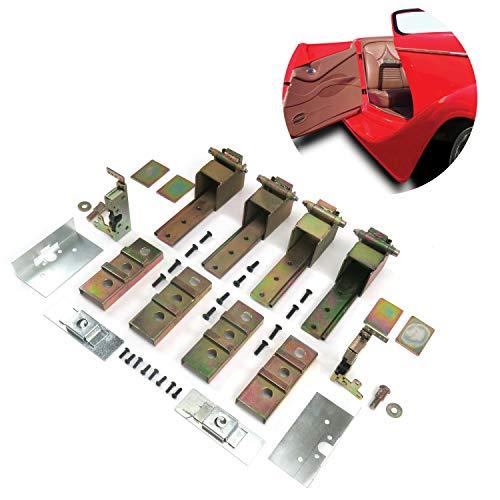 AutoLoc Power Accessories 9615 2-Door Individual Suicide Hidden Hinge System Super Kit