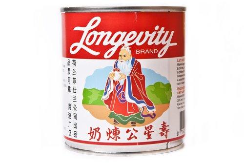 Longevity Gezuckerte Kondensmilch 8% 397g