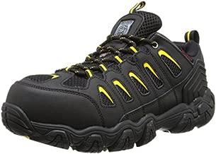 Skechers for Work Men's Blais Hiking Shoe, Black, 11 M US
