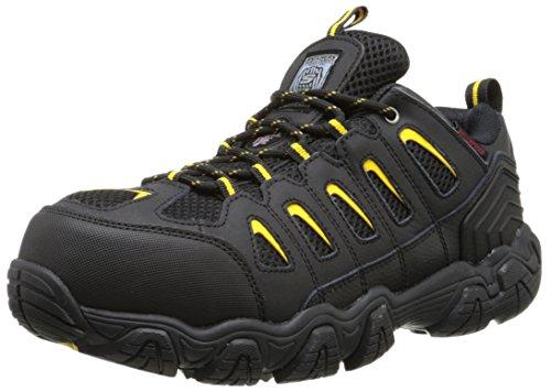 Skechers for Work Men s Blais Hiking Shoe, Black, 11 M US