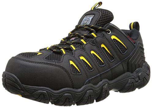 Skechers for Work Men's Blais Hiking Shoe, Black, 10.5...
