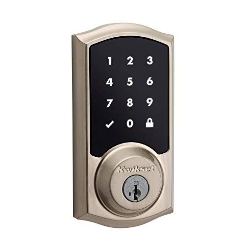 Kwikset 99160-020 Smartcode 916 Traditional Smart Lock Touchscreen Electronic Deadbolt Door Lock...