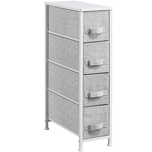 4-Drawer Fabric Narrow Vertical Dresser Tower Now $29.24 (Was $42.99)