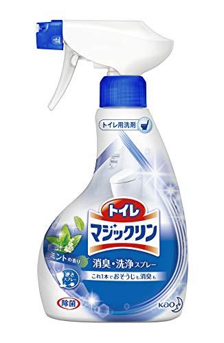 トイレマジックリントイレ用洗剤消臭・洗浄スプレーミントの香り本体380ml