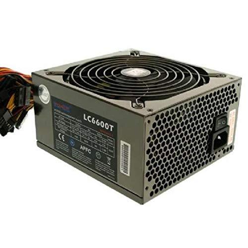 LC Power Alimentazione PC LC6600T Titan II 600W ATX Alimentatore V2.3 SATA Molex