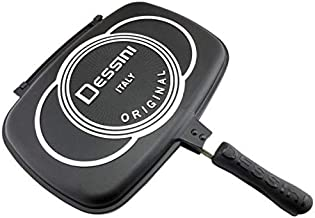 DESSINI DOUBLE GRILL PAN 36CM, ITALY