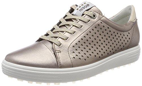 ECCO Womens Casual Hybrid Perf, Chaussures de Golf Femme, Or (Warm Grey 01375), 39 EU