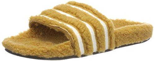 Adidas ADILETTE W Zapatos de playa y piscina Mujer, Beige (Mesa/Blatiz/Negbás 000),...