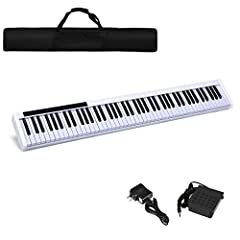 ⚠️【This product is not for sale in California】Rich Interface & Various Button: MIDI function allows you to connect computer, smart phone and other intelligent devices to obtain better piano training experience. 128 Rhythms, 128 tones and 20 demos mak...
