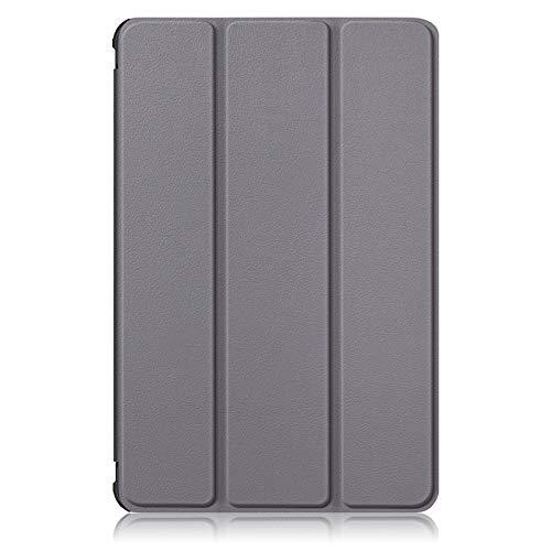 RZL Pad y Tab Fundas para Samsung Galaxy Tab S7 Plus, Smart Stand Tablet Cover Fashion Pinte Funda para Galaxy Tab S7 T870 T875 T970 T975 (Color : Gris, Talla : Tab S7 11 Inch)