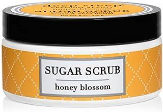 Deep Steep Sugar Scrub, 8 Ounce (Honey Blossom)